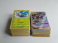 Lotto 162 carte MINT e Diverse Pokemon Set Sintonia Mentale GX Alleati Rare Holo