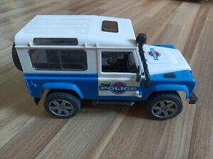 Bruder Land Rover Police Polizei Auto Car 1928 von 2010 Spielzeugauto