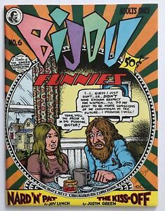 Bijou #6 - Signed By Robert Crumb - Underground Comix