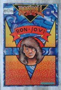 Bon Jovi comic Rock n Roll Comics #3 1989 Revolutionary Comics Unauthorized Bio