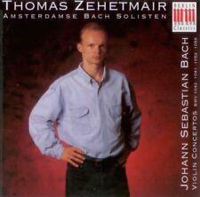 Thomas Zehetmair: Johann S.Bach - Violinkonzerte CD 1994 BWV 1042,1041,1052,1056