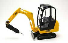 JCB 8016 Excavator with Hydraulic Hammer 1:25 Model JOAL
