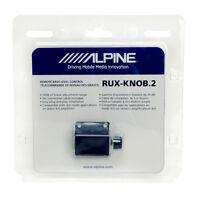 Alpine RUX-KNOB.2 Remote Bass Level Control Knob for Alpine Amplifiers NEW