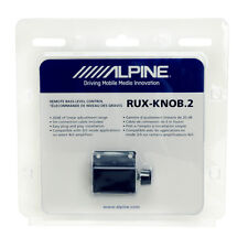 Alpine RUX-KNOB.2 Remote Bass Level Control Knob for Alpine Amplifiers NEW