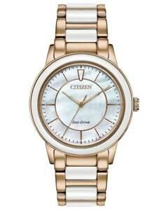 NEW Citizen Chandler EM0743-55D Ladies 36mm Bracelet Watch MSRP $350