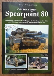 Tankograd British Special 9022: Cold War Exercise Spearpoint 80, Softback book
