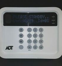 ADT Honeywell 5800 Home Security Wireless Keypad Tabletop Panel K5250-8