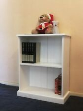 3x2 Solid Wood Bookcase in White,Children Furniture,Home Office,Decorate