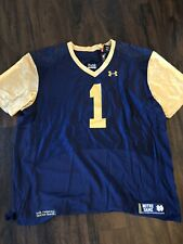 Notre Dame Under Armour Jersey 4XL NWT