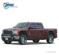 Textured Extension Fender Flares Fits GMC Sierra 1500 2007-2013 5.8 Ft Bed Only