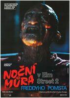 A NIGHTMARE ON ELM STREET 2 FREDDY'S REVENGE 1985 Original Czech A3 Movie Poster
