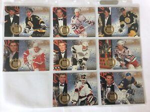 1994-95 Fleer Ultra, Award Winner Complete Set 8 out of 8 NHL Ice Hockey Cards.