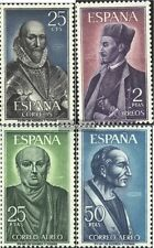 Spain 1593-1596 (complete issue) unmounted mint / never hinged 1966 Famous Spani