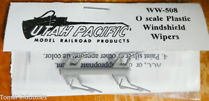 Utah Pacific #508 Windshield Wipers (O Scale) Plastic Parts / Made in USA