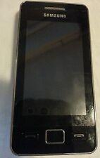 Samsung  Star II GT-S5260 - Black ohne Simlok simlokfrei