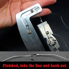Nagelneu Halb Automatisch Fischen Hook Line Lagen Krawatte Bindungen Werkzeuge