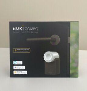 Nuki Combo 2.0 Smart Lock und Bridge (220085) Wie Neu mit Garantie