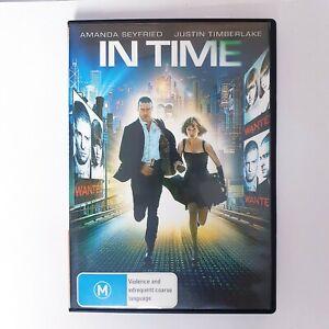 In Time Movie DVD Movie Region 4 Free Postage - Drama Thriller