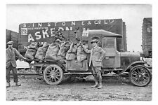 pt6178 - Askern Colliery , Coal Lorry , Yorkshire - photograph 6x4