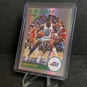Karl Malone 2020-21 Panini NBA Hoops Tribute Holo /199