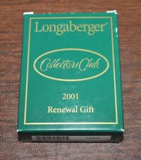 Longaberger Collectors Club 2001 Renewal Gift Photo Frame #74802 New in Box