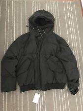 New Cole Haan Mens Black Bomber Jacket  Down Coat XXL
