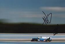 Ho-Pin Tung, Nelson Panciatici mano firmado Nissan 12x8 Foto 2016 Le Mans CME 2.