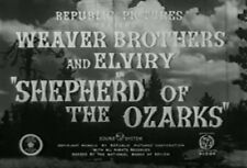 SHEPHERD OF THE OZARKS (1942) DVD THE WEAVER BROTHERS, MARILYN HARE