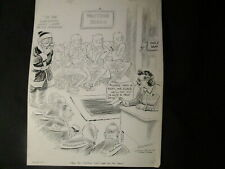 McCutcheon-Original-1942-Santa Meets the Spirits of War