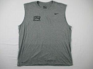 UNLV Runnin' Rebels The Nike Tee Sleeveless Shirt Men's NEW Multiple Sizes
