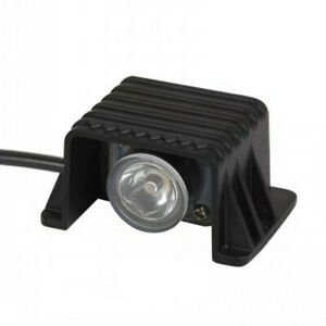 1W LED Outdoor Path Step Stair Foot light Surface Mounted Spot Light Black