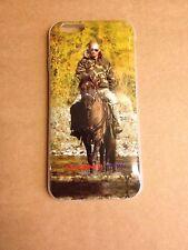 iPhone 6 - Putin mit Pferd - Russland Russia Flagge - Cover Handy Hülle Schale