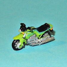 MICRO MACHINES - BMW K100 green - motorcycle Galoob