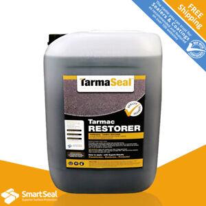 TARMASEAL Tarmac Sealer & Paint BLACK Coloured Repair Coating (sample 5L & 20L)