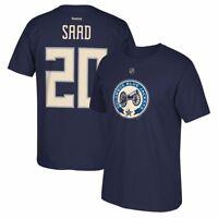 Brandon Saad Reebok Columbus Blue Jackets Home Premier Jersey T-Shirt Men's