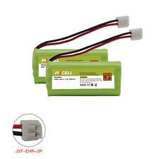 2X Cordless Phone Battery NI-MH AAA*2 600mAh 2.4V for Vtech CPH-4515D JST-HER-2P