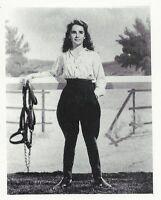 Rebecca Sunny Brook Farms Penny Arcade Movie TV Star Promo B&W Photo card 1970s
