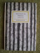 Fabuleux 34 Radierungen - Albert Schaefer-Ast - Insel-Bücherei Nr. 691