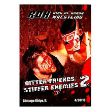 Official ROH Ring Of Honor Bitter Friends, Stiffer Enemies 2 DVD (Pre-Owned)