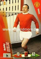 Adrenalyn XL Man. United - Nobby Stiles - Legends