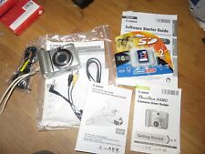 Canon PowerShot A580 8.0 Mp Digital Camera 4X Zoom~2Gb Memory Card~Accessories