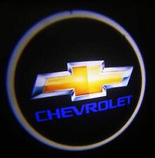 2PCS Chevrolet Ghost Shadow Projector Laser Logo LED Courtesy Door Step Lights