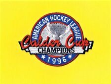 ROCHESTER AMERICANS AMERICAN HOCKEY LEAGUE 1996 AHL CALDER CUP CHAMPIONS PATCH