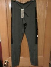 REEBOK Workout Delta Tight - Grey/Black - Size XS - NEW with Tags