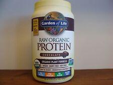Raw Organic Protein Chocolate 23.4 oz Vegan Gluten Free Protein Garden Of Life