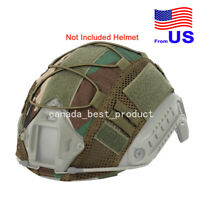 Tactical Airsoft Helmet Cover Nylon Cloth for BJ/PJ/MH Fast Helmets WL USA