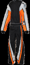 K1 Vortex Victory Auto Racing Suit--Orange--SFI 3.2A/1--Kid's and Adult Sizes