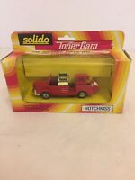 Solido French Made 1/43 Die Cast Fire Truck Vintage