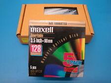 Fujitsu MCP3064UB USB 3.5 inch Optical Drive with 5 Pack of Media MA-M128