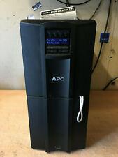 APC SMT2200I Smart-UPS Tower 2200VA LCD 230V + Network Management Good Cells